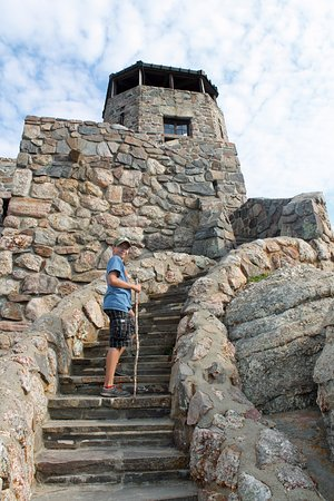 Harney Peak : we made it!