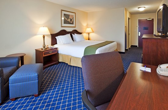 Holiday Inn Express Hotel & Suites Dothan North : King Bed Guest Room