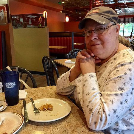 Richmond, IN: My wife enjoyed pancakes.