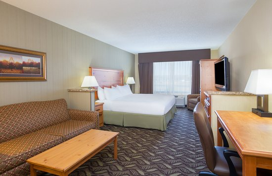 Holiday Inn Express : King Executive Guest Room with sofa bed