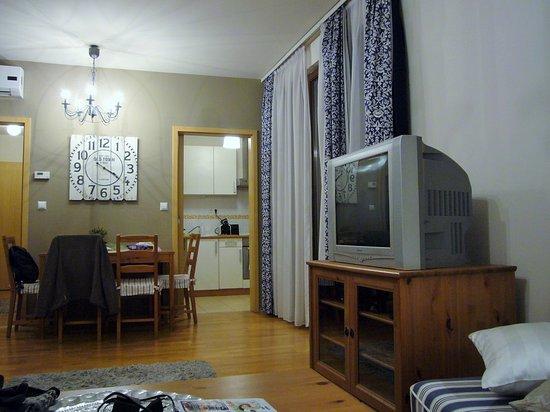 Soggiorno - Picture of Central Passage Budapest Apartments ...