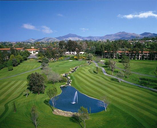 Rancho Bernardo Inn : Golf Course Aerial View
