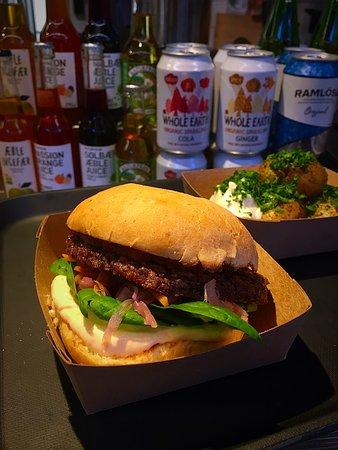 vegan fast food stockholm