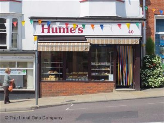 Halstead, UK: Hume's Bakery
