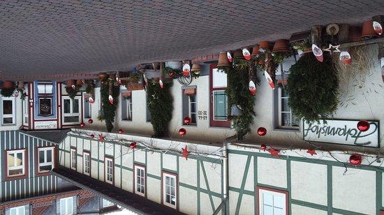 Hotel Garni Johannishof: Vorweihnachtlicher Johannishof