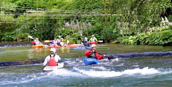 Canoa e Kayak sul fiume Aniene a Subiaco (RM)