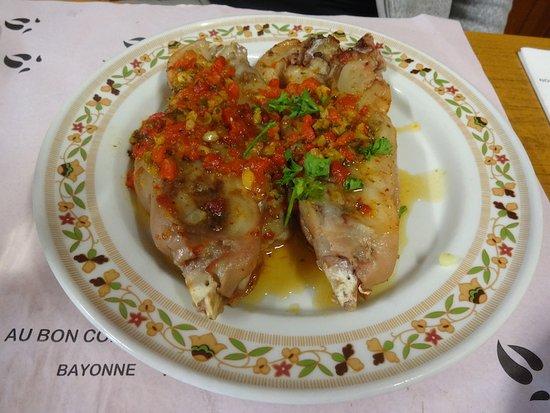 Restaurant au bon coin les pied de cochon peyrehorade for Aquitaine cuisine