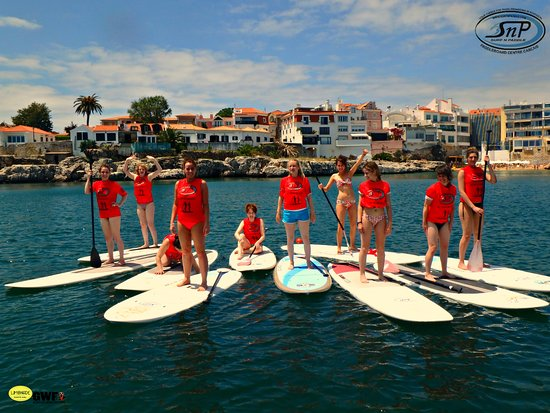 f4f1be414 SUP Yoga classes in Cascais bay..2017 coming soon ! - Picture of ...