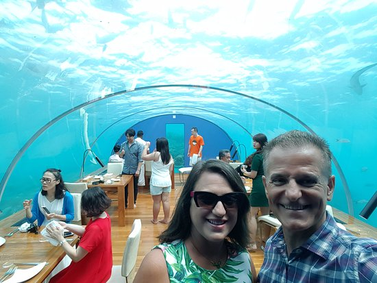 Ithaa underwater restaurant at the conrad rangali for Ithaa prices