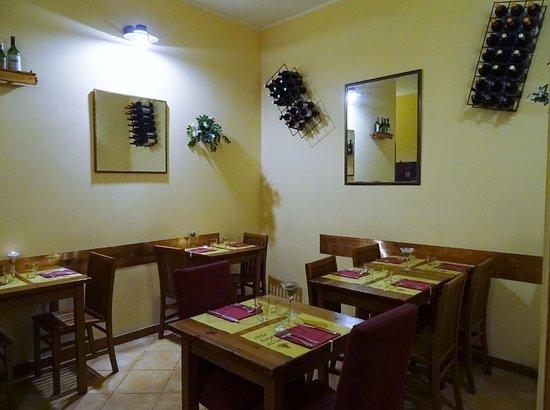 Relazioni Culinarie: Saletta