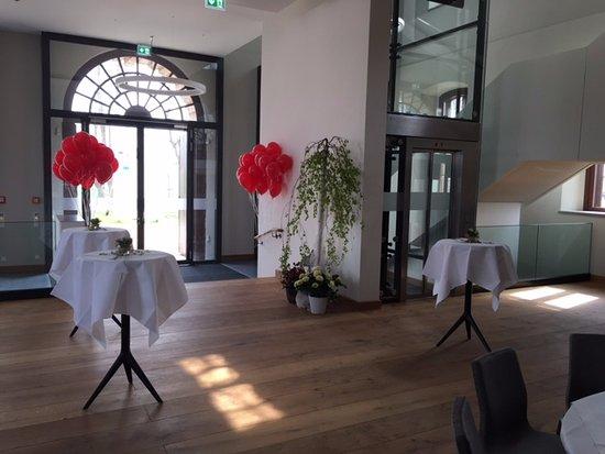 Kluetz, Germany: Empfangssaal auf Schloss Bothmer