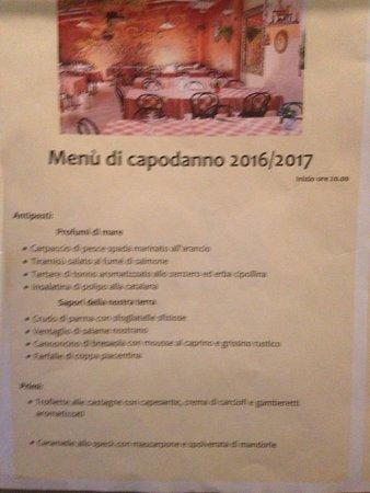 Menù Di Capodanno Picture Of Il Gatto E La Volpe Melzo Tripadvisor