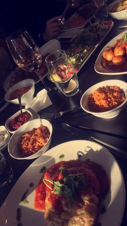 ... food!! - Picture of Balkon Meze & Grill Turkish Restaurant, Bromley