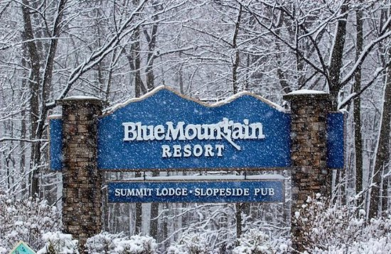 Palmerton, PA: A snowy day at Blue Mountain Resort