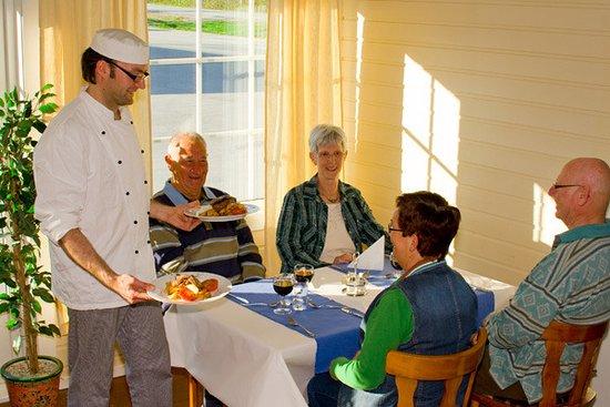 Olderfjord Hotell Restaurant: Cozy dinner at our restaurant?