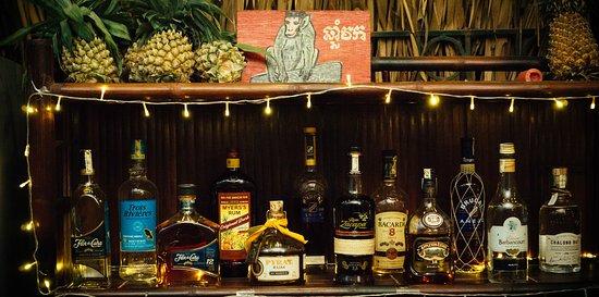 our bourbon special knob creek 9yr bourbon housemade falernum