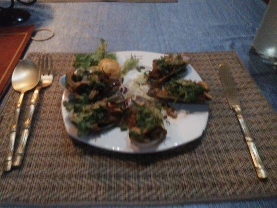 Oriental Thai-European Restaurant: Mussels