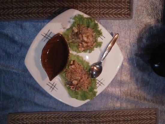 Oriental Thai-European Restaurant: Complementary Thai Beatle