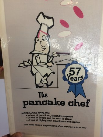 Pancake Chef: Menu Cover