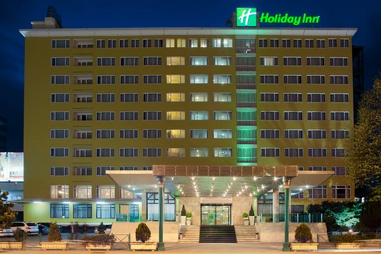 Holiday Inn - Skopje: Hotel Exterior