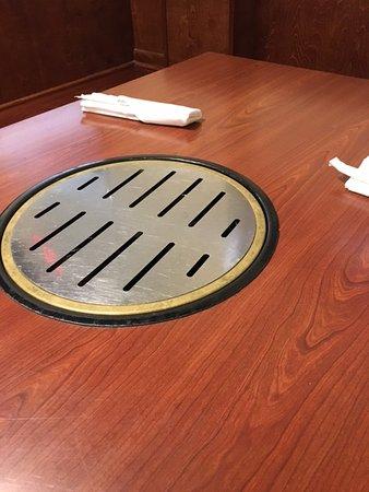 Bethesda, MD: Japanese styled table near sushi bar