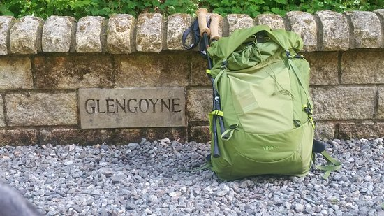 Glengoyne Distillery and a lonely rucksack - Picture of Mckenzie ... db95e6beae887