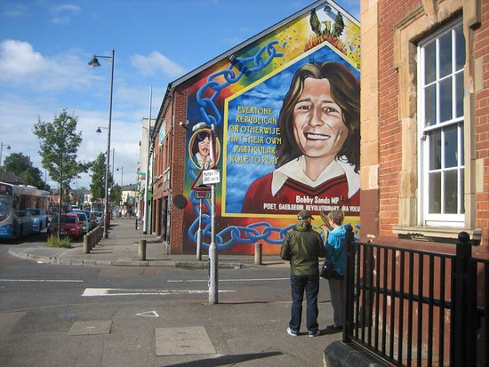 Connolly statue falls road picture of falls road for Bobby sands mural falls road