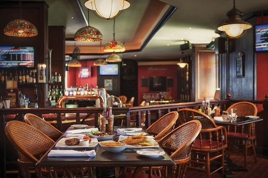Jumeira Rotana: The Boston Bar