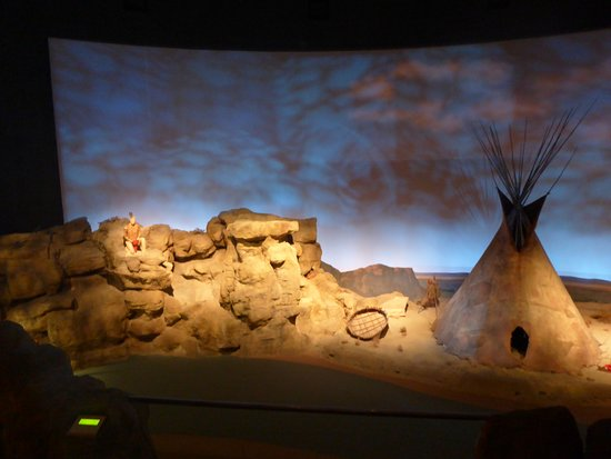 Museum of the Plains Indian: tipie