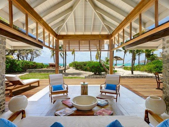 Petit St.Vincent: PSV, 2 Bedroom Beach Cottage Lounge Area