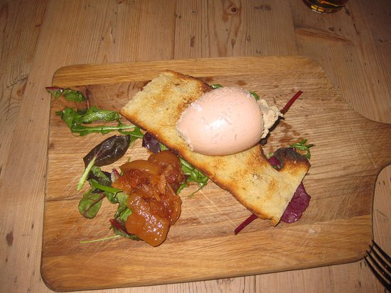 Talbot Inn: Bird liver Parfait