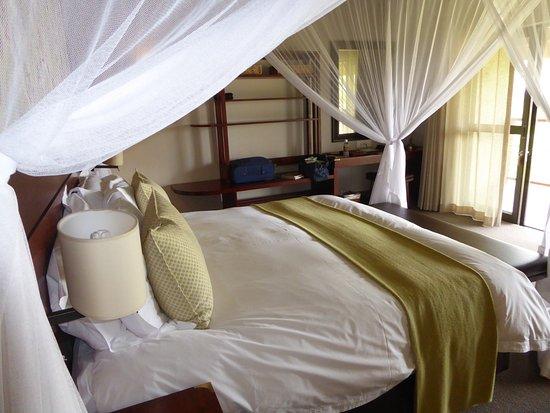 Ilala Lodge: baldacchino perfetto
