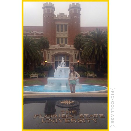 Visitor s Center Unconquered Statue Picture of Florida State