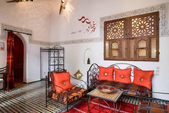Riad Jamai: Salon Paprika suite Riad Jamaï