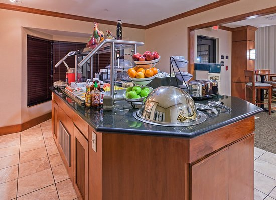Breakfast Bar Picture of Staybridge Suites San Antonio NW near