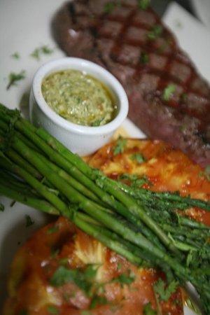 The Rainbow Inn Seafood & Steak House : Steak Dinner at Rainbow Inn