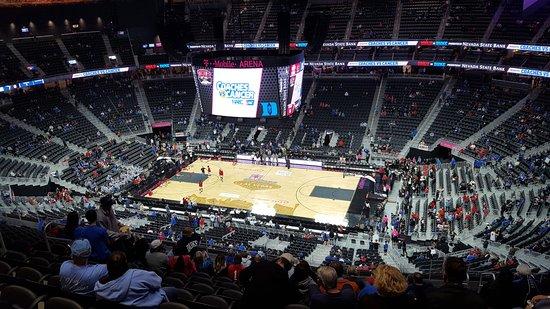 View of Arena Floor Picture of T Mobile Arena Las Vegas TripAdvisor