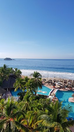 Sunscape Dorado Pacifico Ixtapa: Room 1218. Recommend at least 3 rd floor (1209 to 1218) or higher