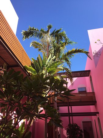Rosas & Xocolate Boutique Hotel & Spa: A perfect combination: blue & pink