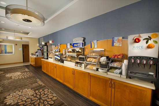 Holiday Inn Express Hotel & Suites Columbia East - Elkridge: Breakfast Bar