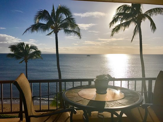 Maui Sugar Beach Inn : The view from Sugar Beach unit #525
