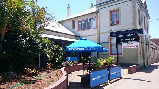 Casino, Australia: Zeebras Restaurant & Cafe