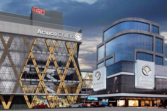 Chillan, Chile: Mall de Chillán, ubicado en el centro de la ciudad a un costado del Mercado y cercanía del paseo