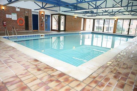 Swimming Pool Picture Of Eynsham Hall Hotel North Leigh Tripadvisor