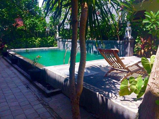 Rita Hotel : бассейн на территории, жители других гестов владельца также могут им пользоваться