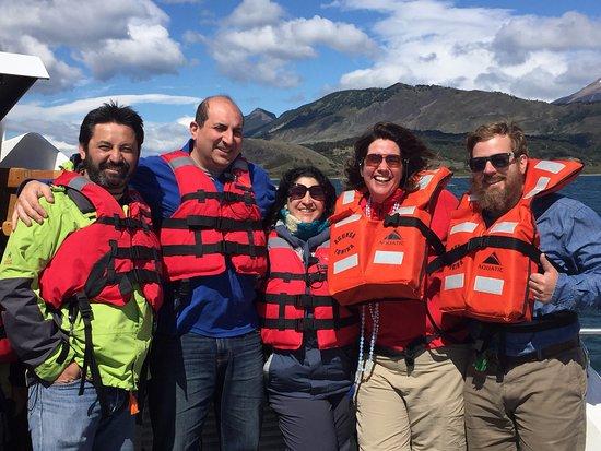 Agunsa Patagonia: todos gozando de esta naturaleza magnífica y de un paseo inolvidable