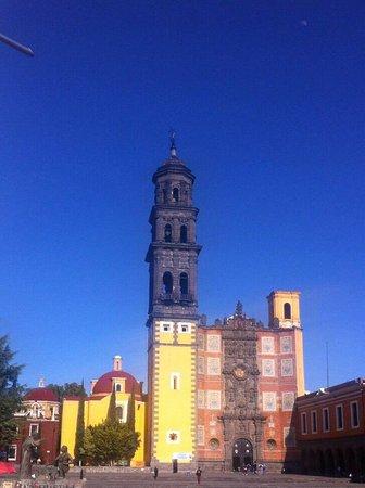 Puebla, Mexique : Iglesia de San Francisco