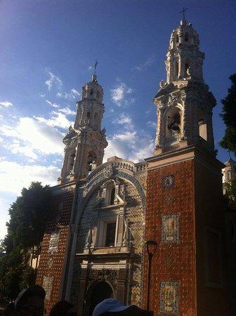 Puebla, Mexique : Santuario de Nuestra Señora de Guadalupe.