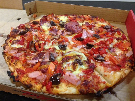 Tyabb, Australia: Nice thick base with plenty of toppings.
