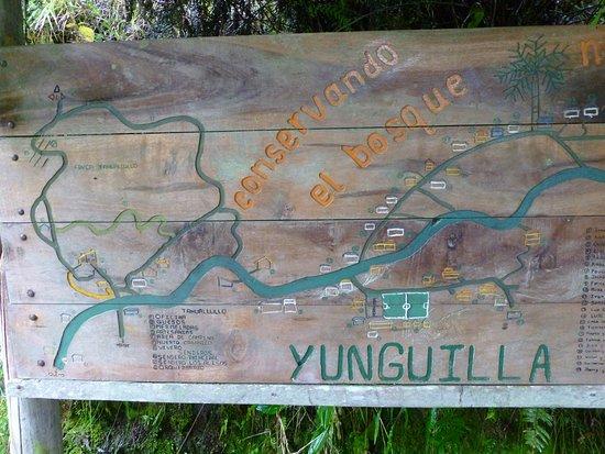 Yunguilla Ecuador Map Map of Yunguilla, not a very big place   Picture of Yunguilla